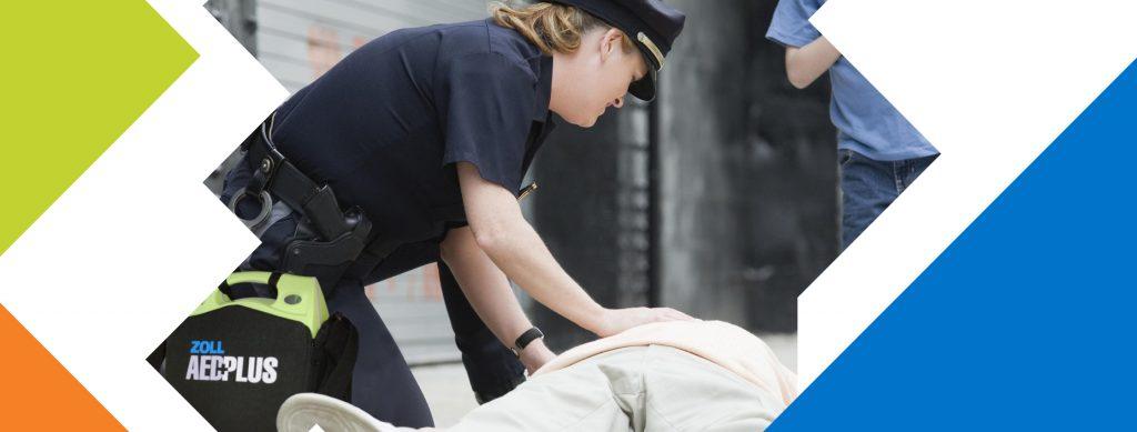 автоматичен външен дефибрилатор AED ZOLL Plus. Решение за Службите за защита на населението - полиция, пожарна