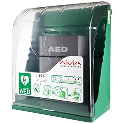 шкаф aivia s за автоматични дефибрилатори